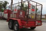 8 x 4 Trailer with Gates